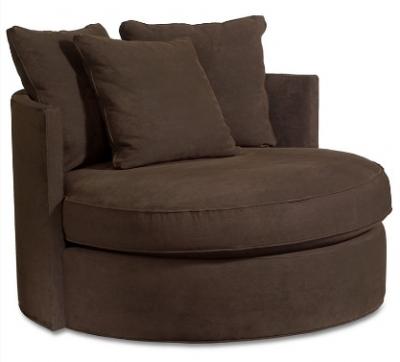 Oversized round lounge chair - Doss Goa Round Swivel Chair