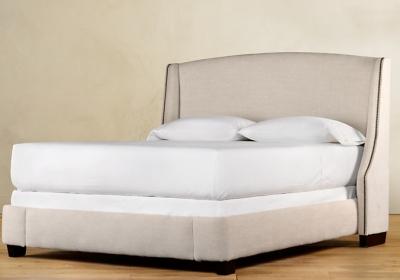 Restoration Hardware Warner Upholstered Bed