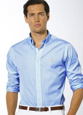 3a8ffbe0 Polo Ralph Lauren Classic Fit Bengal Stripe Sport Shirt ...